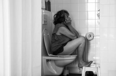Op de wc